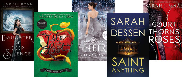 Top Releases For Your Teen's Summer Reading List