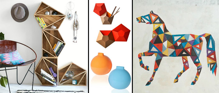 Stylish Geometric Home Decor Designs Under $100