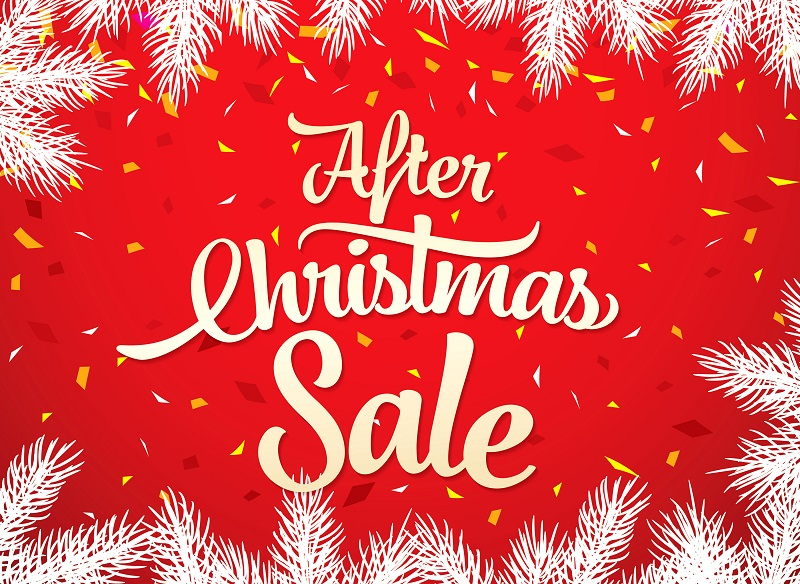 Take Advantage of the Post-Christmas Sales!